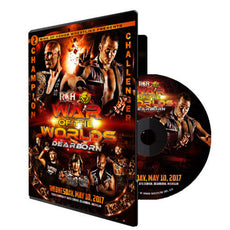 ROH : War Of The Worlds 2017 : Dearborn Event DVD