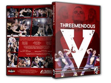 PWG - Threemendous V 2018 Event Blu-Ray