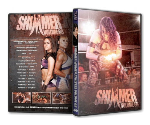 Shimmer - Woman Athletes - Volume 68 DVD