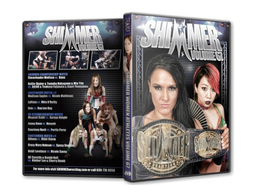 Shimmer - Woman Athletes - Volume 67 DVD