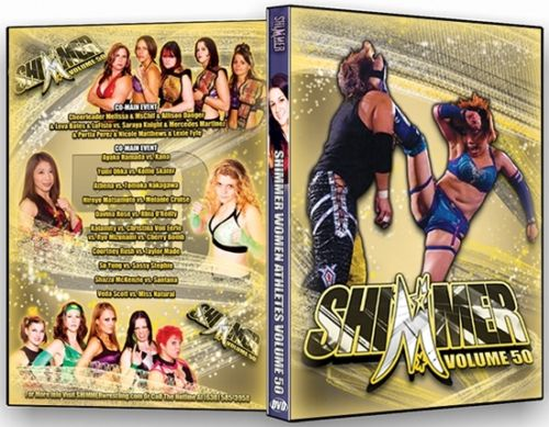 Shimmer - Woman Athletes - Volume 50 DVD