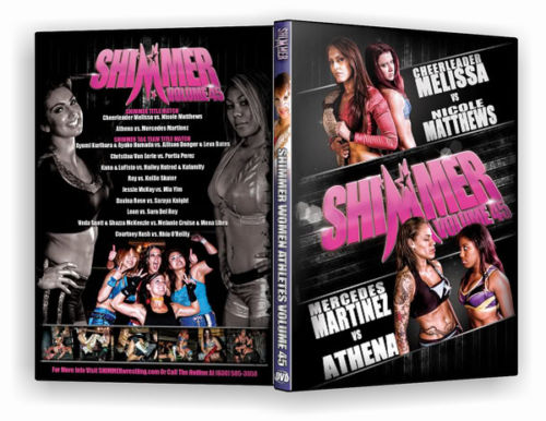 Shimmer - Woman Athletes - Volume 45 DVD