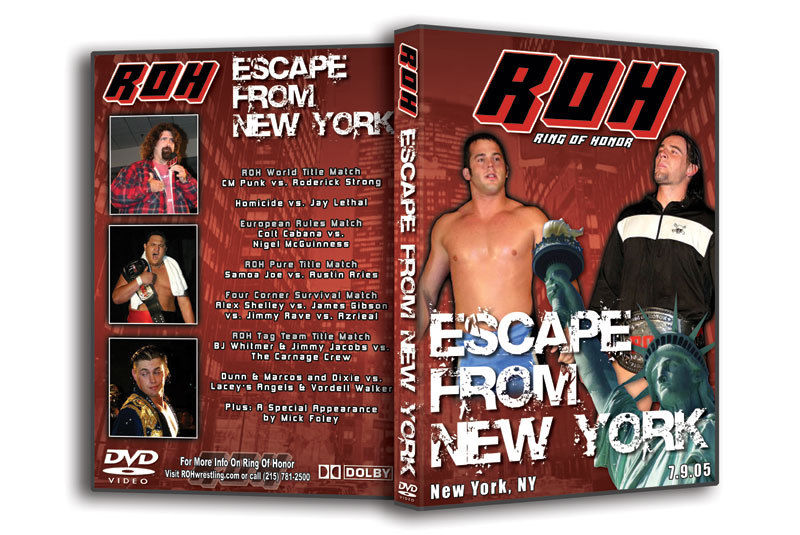 ROH - Escape From New York 2005 Event DVD (Pre-Owned)