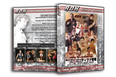 ROH - The Tokyo Summit 2008 Event DVD