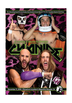 PWG - Cynaide A Loving Tribute to Poison 2010 Event DVD