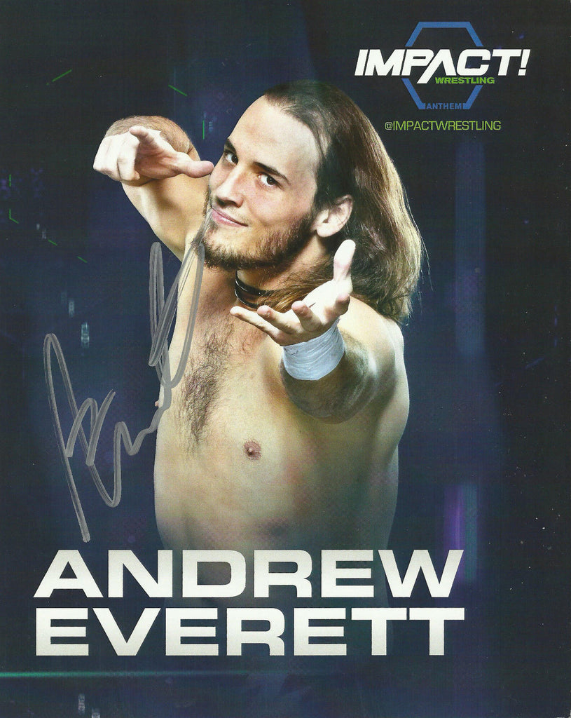 TNA / GFW Impact Wrestling Hand Signed Andrew Everett 8x10 Photo