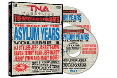 TNA The Best Of The Asylum Years Vol 1  DVD
