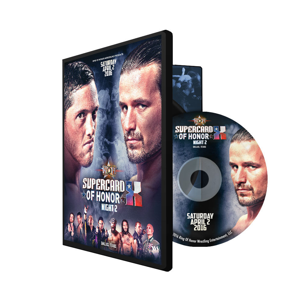 ROH - Supercard Of Honor 10 Night 2 2016 Event DVD
