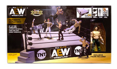 AEW : Authentic Scale Ring Playset (w/ Exclusive Kenny Omega)