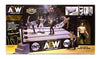 AEW : Hand Signed : Authentic Scale Ring Playset (w/ Exclusive Kenny Omega), Signed by Kenny Omega!