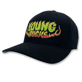 "AEW - Young Bucks ""Killing The Business"" Flexfit Baseball Cap / Hat"