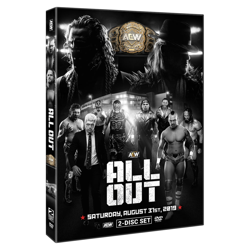 AEW - All Out 2019 Event 2 Disc DVD Set
