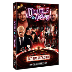 AEW - Double Or Nothing 2019 Event 2 Disc DVD Set