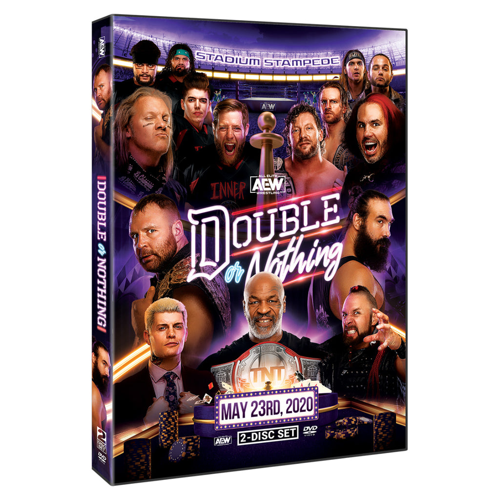 AEW - Double Or Nothing 2020 Event 2 Disc DVD Set