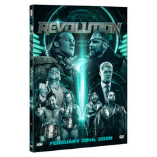 AEW - Revolution 2020 Event DVD