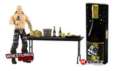 "AEW : Chris Jericho ""A Little Bit of the Bubbly"" Ringside Exclusive Figure Set *** Instock : Damaged Packaging ***"