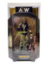 "AEW : Unrivaled Series 2 : ""Hangman"" Adam Page Figure * Hand Signed *"
