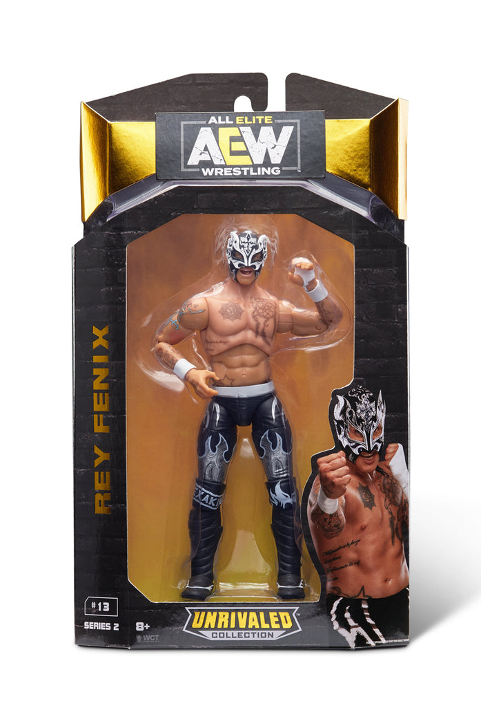 AEW : Unrivaled Series 2 : Rey Fenix Figure * US Version *