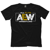AEW : All Elite - AEW Logo T-Shirt