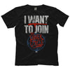 "AEW - Inner Circle ""I Want To Join"" T-Shirt"