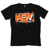 "AEW - Jon Moxley ""Vandalised"" Hop Topic Exclusive T-Shirt"