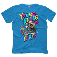 "AEW - The Young Bucks ""Skull Kick"" T-Shirt"