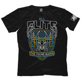 "AEW : All Elite - The Young Bucks ""All Elite Neon"" T-Shirt"