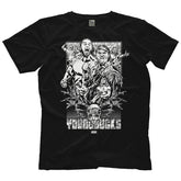 "AEW - The Young Bucks ""Enter The Young Bucks"" T-Shirt"