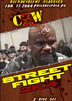CZW Combat Zone - Street Fight 2K4 2004 2 Disc Set DVD