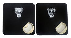 Demon Bunny - Placemat Coasters with Bottle Openers ( Choice of 2 Designs )