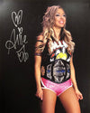 "Demon Bunny - Allie ""Champion Entrance"" Signed 8x10"