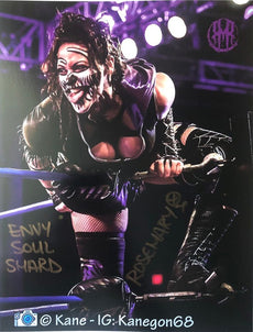 "Demon Bunny -  Rosemary ""Envy Soul Shard"" Signed 8x10"
