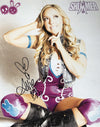 "Demon Bunny - Allie ""Shimmer Seated Promo"" Signed 8x10"