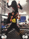"Demon Bunny - ""Greed & Cherry Bomb Cage Match"" Signed 8x10"