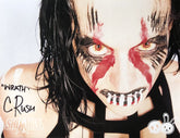 "Demon Bunny - Courtney Rush ""Wrath Facepaint"" Signed 8x10"