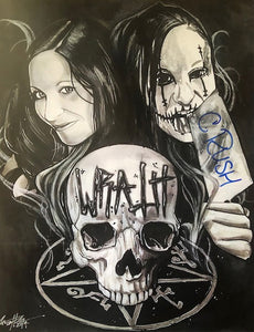 Demon Bunny -  Wrath / Rush Artwork Signed 8x10