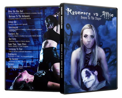 Demon Bunny - Rosemary vs Allie – Demon vs The Slayer DVD