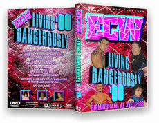 RF ECW - Living Dangerously 2000 DVD
