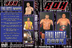 ROH - Final Battle 2004 Event DVD (Pre-Owned)