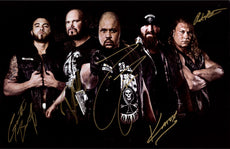 "Highspots - Aces & Eights ""Club House Line Up"" Hand Signed 11x17"" *inc COA*"