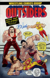 "Highspots - Scott Hall & Kevin Nash ""Outsiders Comic"" Hand Signed 11x17 Artwork *inc COA*"