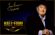 "Highspots - Jim Ross ""Hall Of Fame"" Hand Signed 11x17 *inc COA*"