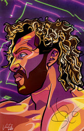 "Highspots - Kenny Omega ""Art Print"" Hand Signed 11x17 *inc COA*"