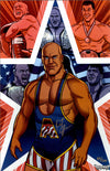 "Highspots - Kurt Angle ""Comic Art"" Hand Signed 11x17 Artwork *inc COA*"