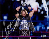 "Highspots - AJ Styles ""P1 WWE Champion!"" Hand Signed 11x14 *Inc COA*"