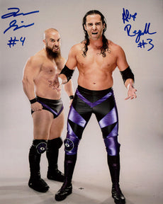 "Highspots - Alex Reynolds and John Silver ""Promo Pose"" Hand Signed 8x10 Photo *inc COA*"