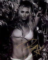 "Highspots - Brooke Hogan ""Bikini Pose"" Hand Signed 8x10 Photo *inc COA*"