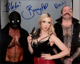 "Highspots - The Butcher, Blade & Bunny ""Promo Pose"" Hand Signed 8x10 *inc COA*"