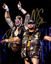 "Highspots - Good Brothers ""Bullet Club Entrance"" Hand Signed 8x10 *inc COA*"