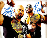 "Highspots - Good Brothers ""IWGP Tag Team Champions"" Hand Signed 8x10 *inc COA*"